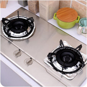 10pcs/lot Oil Proof Disposable Stove Burner Covers
