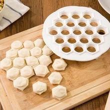Load image into Gallery viewer, Kitchen Pastry Tools DIY White Plastic Dumpling Mold Maker