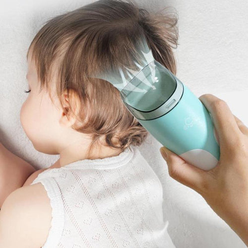 Electric Quiet Trimmer Silent Cutting Machine Baby Hair Clipper