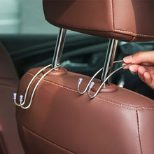 Load image into Gallery viewer, 8PCS Metal Car Seat Hook Auto Headrest Universal Metal Headrest Hook