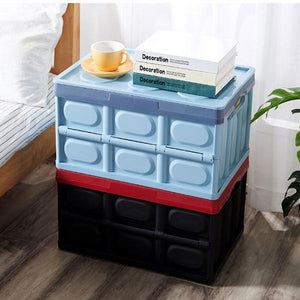 30/56L Foldable Office Home Multifunctional Car Storage Box
