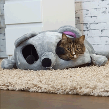 Load image into Gallery viewer, Litter Cartoon Mouse Pet Cat Bed