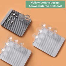 Load image into Gallery viewer, Anti-Slip Diatom Mud Dishware Drainer Rack