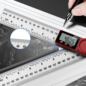 Digital Angle Ruler Inclinometer Goniometer Protractor Angle Finder
