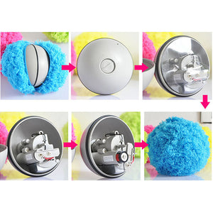 Magic Solid Automatic Roller Ball Dog Cat Pet Toy Funny Roller Ball Toy