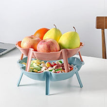 Load image into Gallery viewer, 3PCS Stackable Fruit Plate