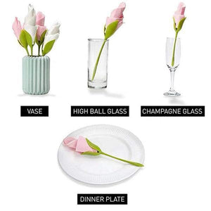 Rose Shape Napkin Holder