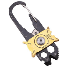 Load image into Gallery viewer, 20 In 1 Cute Multifunctional Carabiner Key Chain Hook Utility Ring Camping Buckles