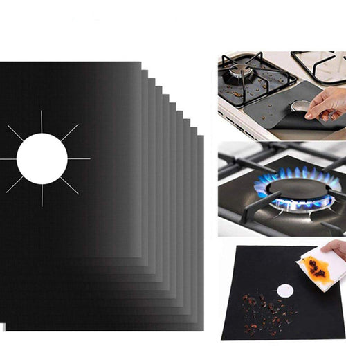 Reusable Gas Stove Top Protector Heat Resistant Microwave Oven Cover Use non-stick surface Mat