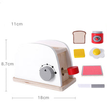 Load image into Gallery viewer, Educational Creative Cafe Maker Wooden Coffee Machine Maker Toy
