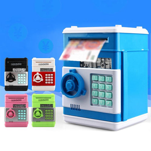 ATM Automatic Password Safe Piggy Bank