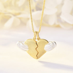 Romantic Heartbreaking Lover Necklace
