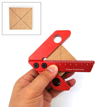 Load image into Gallery viewer, Drillpro YX-1/YX-2 Woodworking Center Scriber Wood Measuring Tool