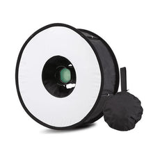 Load image into Gallery viewer, Foldable Ring Speedlight Softbox Flash Light 45cm Ring Flash
