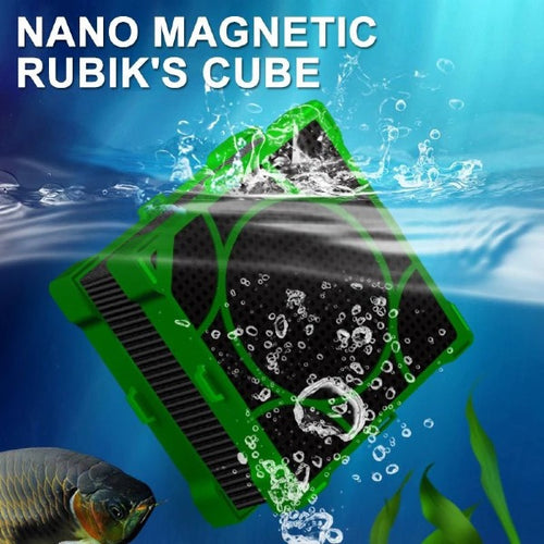 Aquarium Filter Cubes Strong Filtration Absorption Activate Carbon Magnetic Fish Tank Water Purifier