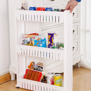 Refrigerator Gap Storage Organizer 2/3 Layers Organizing Shelf