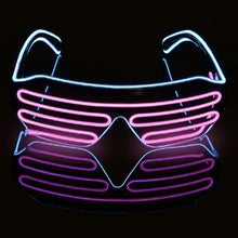 Load image into Gallery viewer, Novelty LED Flashing Party Glasses