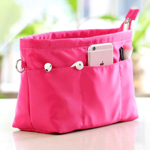 Large Capacity Portable Cosmetic Bag