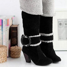 Load image into Gallery viewer, Women's High Heel Knee High Boots