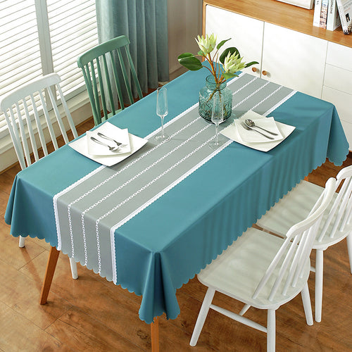 Waterproof Printing PVC Background Plastic Table Cloth Home Decor