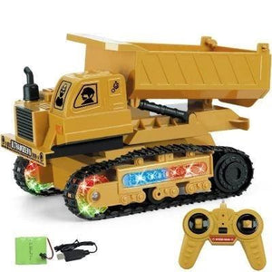 BEST Gift for Kids Electric Wireless Remote Control Engineering Vehicle
