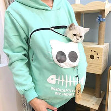 Load image into Gallery viewer, Pet Pouch Hood Tops Sweatshirt