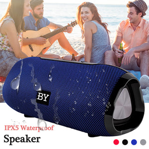 BY6660 Mini Bluetooth Speaker Portable Waterproof Wireless Loudspeaker