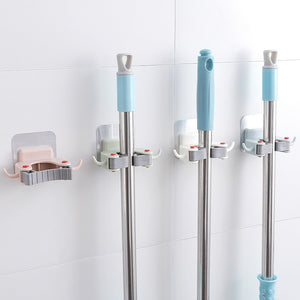 Multifunction Wall-mounted Punch-free Mop Hook