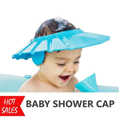 2PCS Baby Shower Cap