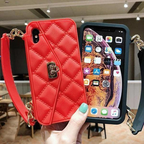 Multifunction Apple Wallet Phone Case