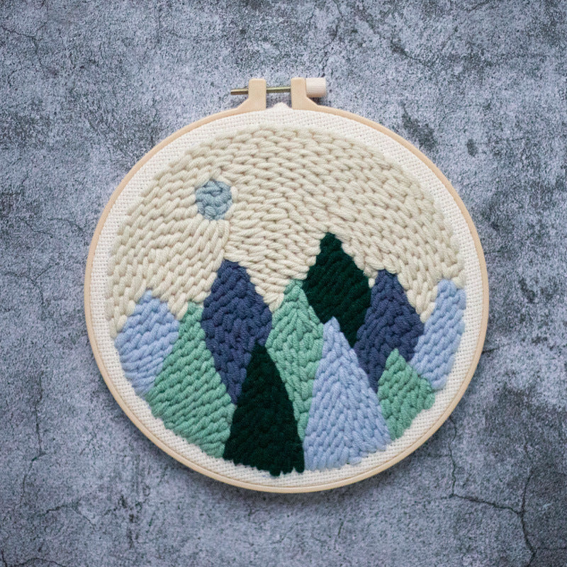 DIY Punch Needle Embroidery Kit-Forest