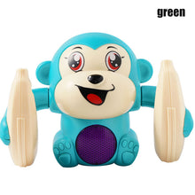 Load image into Gallery viewer, Baby Voice Control Rolling Little Monkey Toy