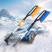 Load image into Gallery viewer, Auto Car Snow Brush Ice Scraper Snow Ice Removal Tools Vehicle Snowbrush Shovel