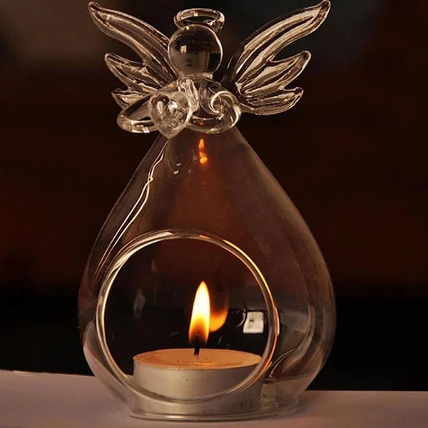 Guardian Angel Candle Holder