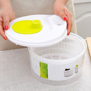 Salad Spinner Lettuce Greens Washer Dryer Drainer