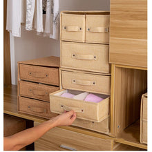 Load image into Gallery viewer, Storage Container Drawer Divider Lidded Closet Box