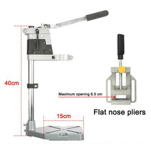 Load image into Gallery viewer, Woodworking Electric Drill Stand Holder