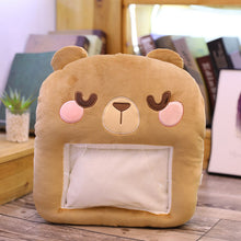 Load image into Gallery viewer, Winter Animals Toy Stuffed Soft Hand Warmer