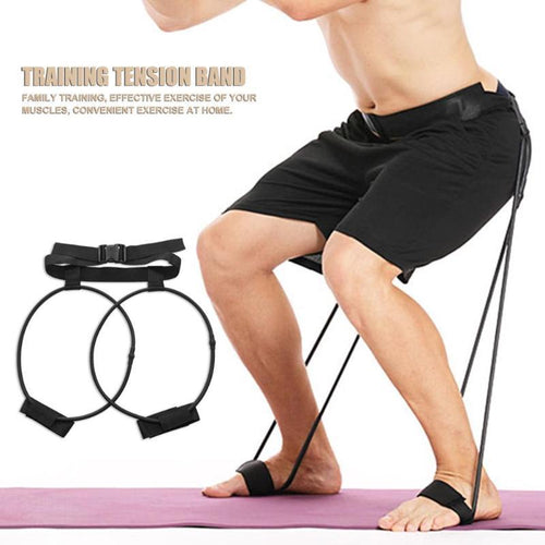 Resistance Bands Leg Training Pull Rope Fitness Bodybuilding Elastic Belts