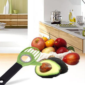 3-in-1 Multi-functional Fruit Seeder Core Splitter Cutting Supplies Vegetable Tools