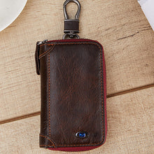 Load image into Gallery viewer, Unisex Mini Zipper Keychain Bag Wireless Bluetooth Cellphone GPS Car Key Anti-Lost Purses