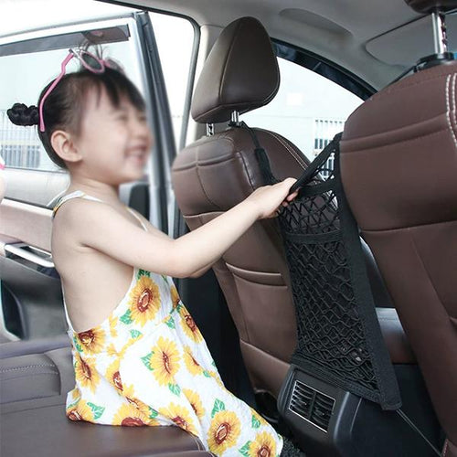 Elastic Storage Net Pocket for Car In Car Seat