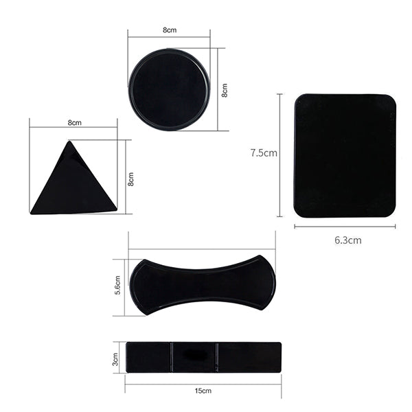 6pcs Magic Nano Rubber Pad Sticker