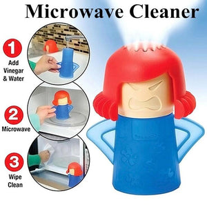Microwave Cleaner Kitchen Cleaner Easily 2PCS
