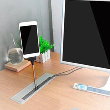 Load image into Gallery viewer, 2 in 1 Lazy Stand Up Charging Cable