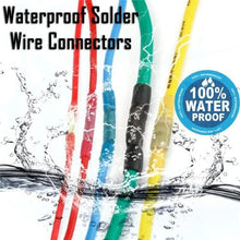 Load image into Gallery viewer, 50/100pcs Waterproof Solder Wire Connectors