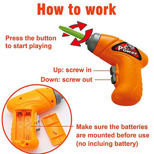 Children's Electric Drill Tool Toy Kit