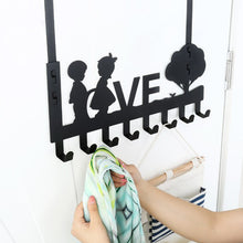 Load image into Gallery viewer, 6/8-Hook Bathroom Organizer Hanger Door Hanging Storage Rack Holder