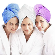 Load image into Gallery viewer, FREE SHIPPING-Magic Quick Dry Hair Hat Hair Towel