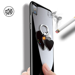 Multi-function Mobile Phone Bracket Lighter